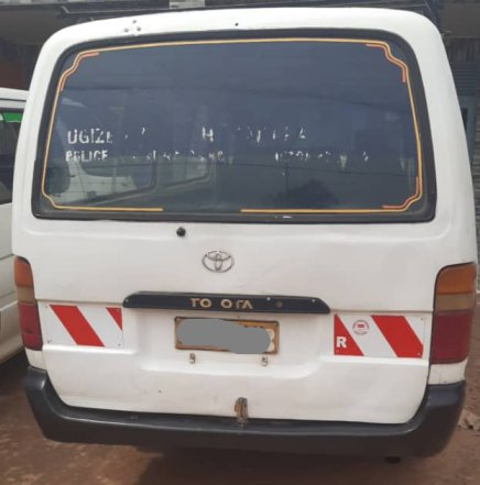 Toyota Minibus Hiace